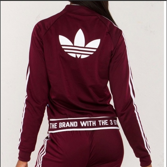 94678a42 ADIDAS 'THE BRAND WITH THE 3 STRIPES' JACKET